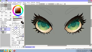 The eyes WIP by PIUPie