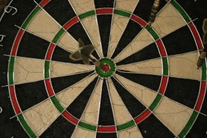Dartboard by Shadow-wolven
