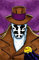 Rorschach from Watchmen by hcnoel