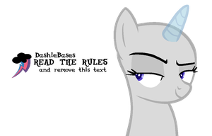 MLP Base: Im a sassy headshot by KIngBases