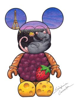 Ratatouille Vinylmation Design by StephanieCassataArt