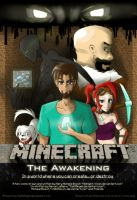 Minecraft: The Awakening Cover Page by TomBoy-Comics