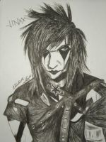 Jinxx pen portrait by Kona-chan19