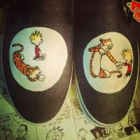 Calvin and Hobbes Vans 3 by Kyg0n