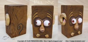 Sculptures: PLUDOZ MONKEY by Axigan