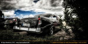 black 56 bel air by AmericanMuscle