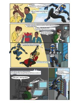 Spiderman Weaver Comic pg4 by KGH786