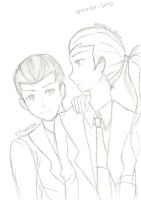 Dick and Artemis - Young Justice by Mich1309