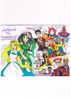 Young Justice Artemis In Wonderland by AimiisLoveBeautiful