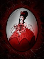SW: Spider Queen of Hearts by JaviDLuffy