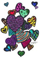 Crazy Love Hearts by emily3371