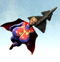 B.E. Elseworld's Supergirl by Chup-at-Cabra