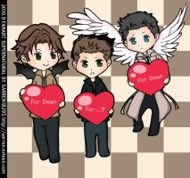 SUPERNATURAL CHIBI by Sarren18293