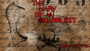 My book wallpaper (The Diary of an Anarquist) by Miktik