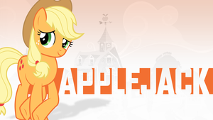 Applejack Wallpaper by LividSketch