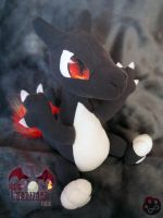 Shiny Charizard plush by Siplick