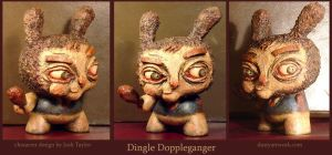 Dingle Doppleganger Dunny by teaspoons
