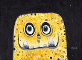 Yellow Spongedog by Rathur-net