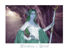 Elendess: Druid by illusionarymind