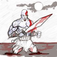 Kratos by danny2069