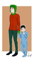 Caring Brother by Ri-tyan
