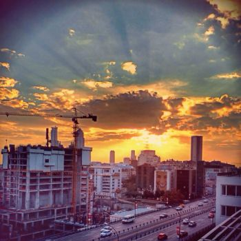 Sunset Yellow HDR by ISIK5