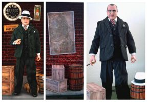 Al Capone Custom Doll by kingsley-wallis