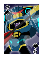 9 of Spades Soundwave by Shioji-san