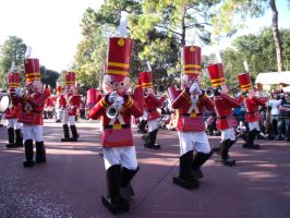 Marching Soldiers by LostWendy