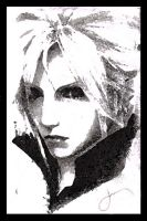 Cloud Strife Final Fantasy by Aguiar7