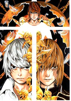 Death Note by Scilliia