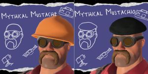 Mythical Mustachio by Bleu-Ninja