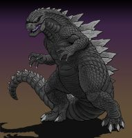 Godzilla 2014 by Art-Minion-Andrew0