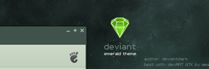 deviant emerald theme by deviantdark