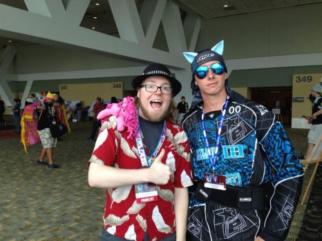 Bronycon pic 1  guess who i found by Hypnotix666