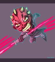 Darth Maul fanart by rickrd