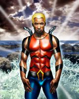 Aqualad by Steven-H-Garcia