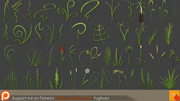 LP HP whatever Grass WIP by Nobiax