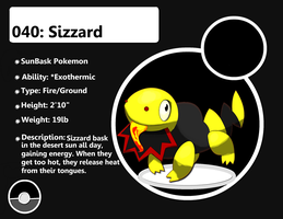 040: Sizzard by SteveO126