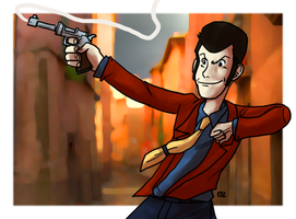 Lupin the IIIrd by theEyZmaster