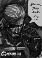 big boss sketch by Brolo