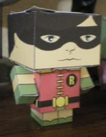 Cubee BATMAN 60'S TV Robin by njr75003