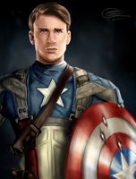 Captain America by dancinghamtoro