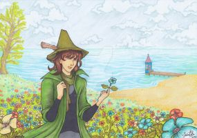Moomin sea breeze by khossh