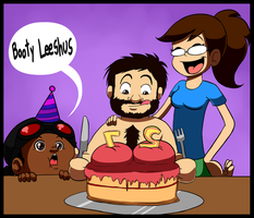 Booty Cake by BlackSen