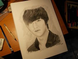 Lee Min Ho Drawing by ScarlettCindy