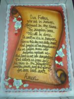 The Lord's Prayer by AingelCakes