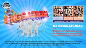 Singsation Poster by jestonischumacher