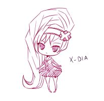 SKETCH REQUEST - X-DIA by iiDolphinx3