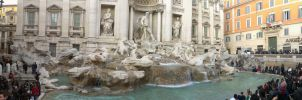 Structure - Trevi Fountain by Spirit-The-Artist
